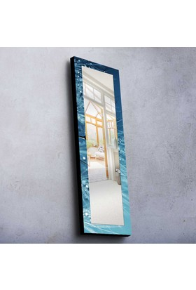 Mavi Mdf Ayna 40X120 Cm -14