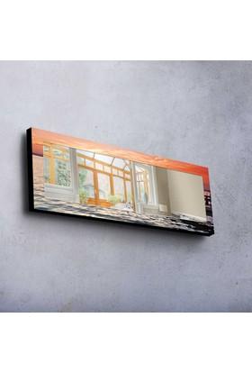 Turuncu Mdf Ayna 40X120 Cm -70