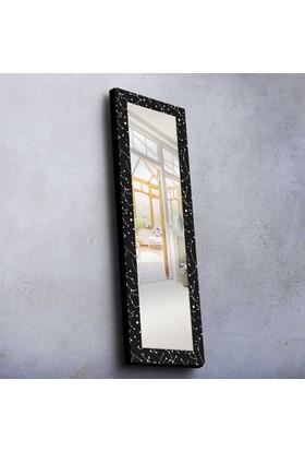 Siyah Mdf Ayna 40X120 Cm -12