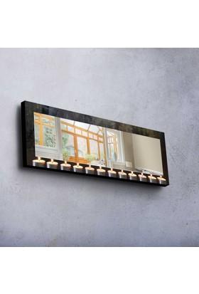 Siyah Mdf Ayna 40X120 Cm -68