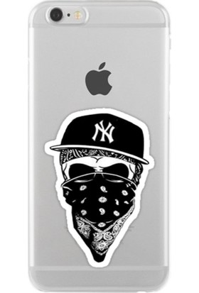 Remeto Rapçi Apple iPhone 7 Şeffaf Transparan Silikon Resimli Kılıf