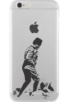 Remeto Atatürk Apple iPhone 6/6S Şeffaf Transparan Silikon Resimli Kılıf