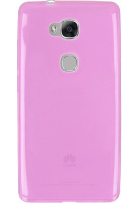 Gpack Huawei Honor 5C Kılıf Arka Kapak 02mm Silikon Pembe