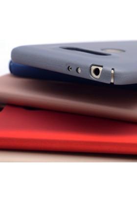 Gpack LG G5 Kılıf Sert Rubber Case Arka Kapak Siyah