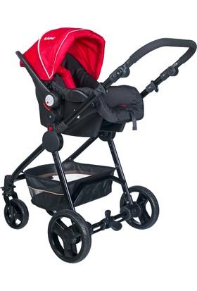 Kanz Kz 4010 Cameron Travel Bebek Arabası Kırmızı