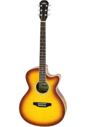 Aria Fet01Fxlvs Elektro Akustik Gitar