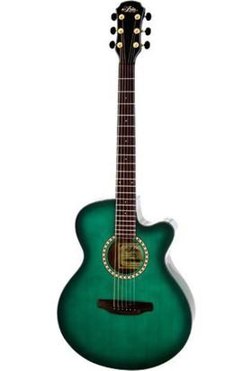 Aria Tg1Sgr Cutaway Akustik Gitar