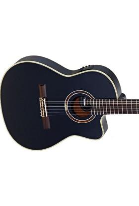 Ortega Rce138T4Bk Elektro Klasik Gitar