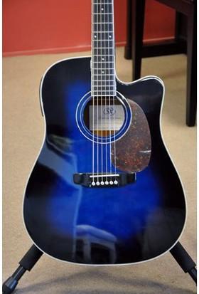 Sx Dg180Ceobb Akustik Gitar