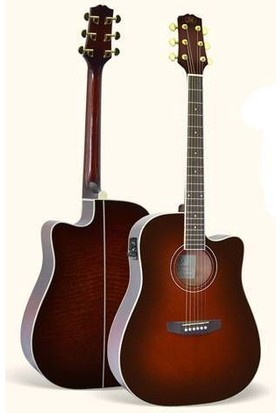 Sx Dg-190 Ce/Vs Elektro Akustik Gitar