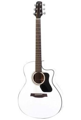 Walden Cd550Ww Concorda Beyaz Akustik Gitar