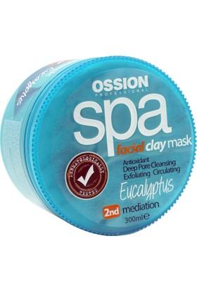 Ossion Yüz Maskesi 300ml. Eucalyptus Özlü | Spa Clay Mask Facial