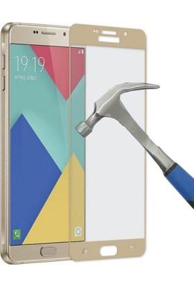 Teleplus Samsung Galaxy A3 2016 3D Full Kapatan Cam Ekran Koruyucu Cam Ekran Koruyucu