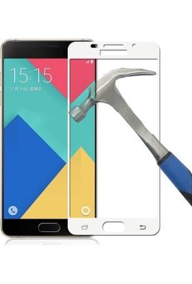 Teleplus Samsung Galaxy A7 2016 3D Full Kapatan Cam Ekran Koruyucu Cam Ekran Koruyucu