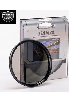 Nikon 18-140mm Lens için Cir Cpl Circular Polarize Filtre -Tianya-