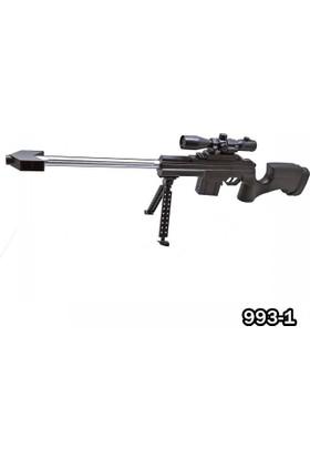 Metaş Ayaklı Lazerli Boncuk Atan Tüfek