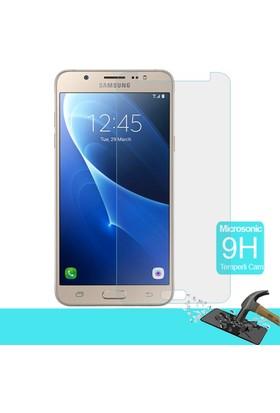 Microsonic Samsung Galaxy J7 2016 Temperli Cam Ekran Koruyucu Film