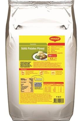 Maggi Sütlü Patates Püresi Toz Karışım 4,5 Kg