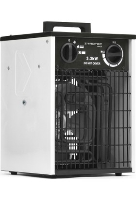 TROTEC TDS 20 Elektrikli Fanlı Isıtıcı