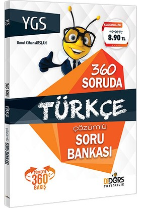 Biders Yayıncılık Ygs 360 Soruda Türkçe Çözümlü Soru Bankası