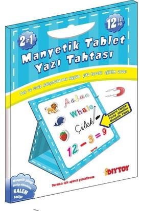 Diytoy Manyetik Tablet Yazı Tahtası Erkek