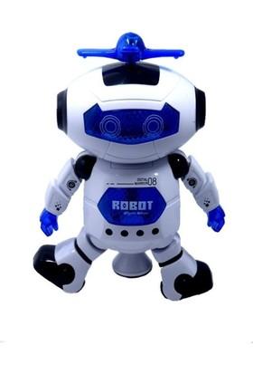 Onyıl Oyuncak Kutuda Dans Eden Robot