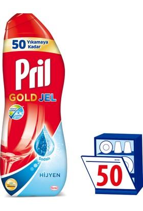 Pril Gold Bulaşık Makinesi Jel Deterjanı Hijyen 1000 ml 50 Yıkama