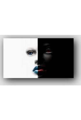ArtRedGallery (Panorama) Siyah Beyaz Tablo