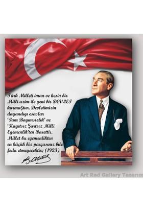 ArtRedGallery Atatürk Tablo - Özel Tasarım