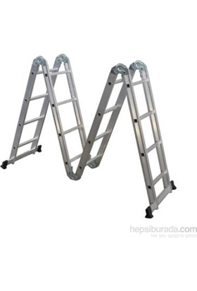EROL Teknik Akrobat Merdiven Dört Kırılmalı 3.75 Mt