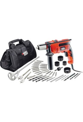 Black&Decker CD714CREW2 710 Watt 13 mm Darbeli Matkap