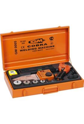 Gm Cobra 0005 Pprc (pvc) Boru Kaynak Makinası Seti