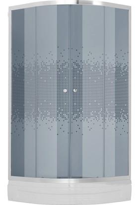 Hydrocabin Tetris 818 100*100 Tekne+Desenli Kabin