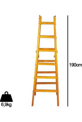 Despa 6 Basamaklı Ahşap Merdiven 190cm