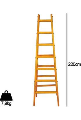 Despa 7 Basamaklı Ahşap Merdiven 220cm