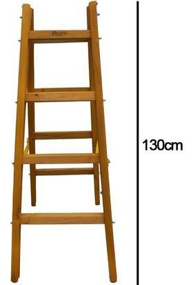 Despa 4 Basamaklı Ahşap Merdiven 130cm