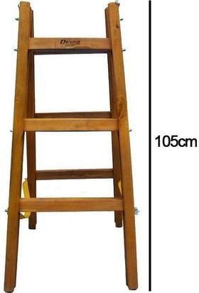 Despa 3 Basamaklı Ahşap Merdiven 105cm