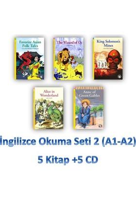 İngilizce Okuma Seti 2 (A1-A2) 5 Kitap +5 Cd