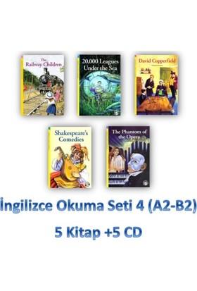 İngilizce Okuma Seti 4 (A2-B2) 5 Kitap +5 Cd