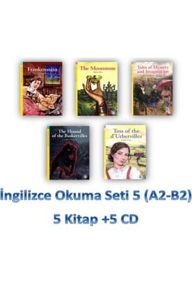 İngilizce Okuma Seti 5 (A2-B2) 5 Kitap +5 Cd