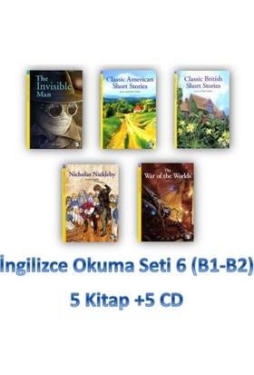 İngilizce Okuma Seti 6 (B1-B2) 5 Kitap +5 Cd