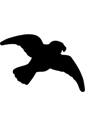 Repel Repel Kuş Gölgesi Sticker (3'Lü Paket)