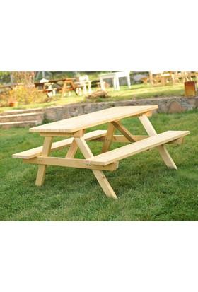 Piknik Masası Naturel-8 Kişilik