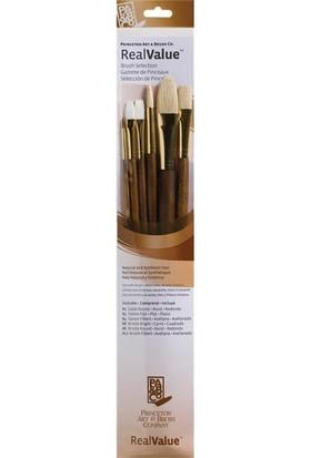 Princeton Fırça Seti 6'Lı Doğal Sentetik Kıl N:9148