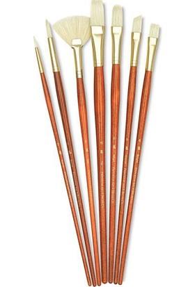 Princeton Fırça Seti 7Lı Doğal Kıl N:9154