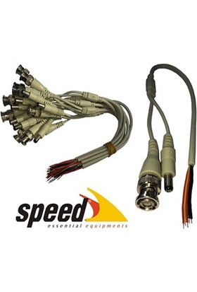Speed Sp-Dc010 Bnc Ve Power Voltaj Jakı 10Lu 30Cm