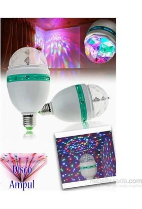 Cix Dekoratif 360 Derece Dönen LED Disko Lamba