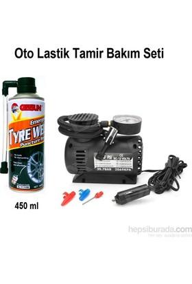 Cix Oto Lastik Tamir Seti ( Kompresör-Tamir Spreyi) 4215a