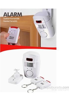 Cix Hareket Sensörlü Alarm Seti (2 Adet Uzaktan Kumandalı)