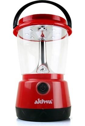 Cix Akiwa 8Ledli Solar Ve Şarjlı Kamp Feneri Akw-101